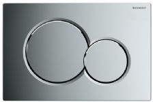 Plaque de commande Sigma01 115770215 Chrome Brillant 115.770.21.5